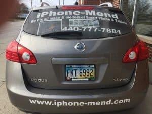 official repair vehicle